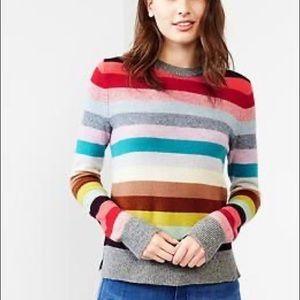 Gap Rainbow Stripe Sweater
